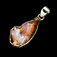 "Boulder Opal 925 Sterling Silver Pendants 1 5/8"" Ana Co Jewelry P711648F"