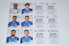 PANINI Russia 2018 France - 6 UPDATE STICKER équipe France TOLISSO FEKIR New