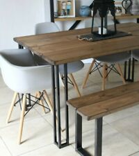 Industrial Style Dining Table And Bench Set Vintage Style, Rustic, £299.99!!!!!