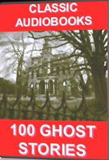 100 Clásico Ghost Stories Audio Libros SPOOKS GHOULS DVD chiiling NOVELAS Tales
