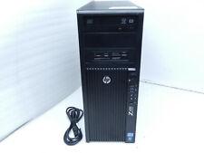 HP Z420 WORKSTATION E5-1607 @3.00GHZ 16GB 1.5TB HDD NVIDIA K2000 WIN 10  T7-A14