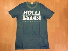 Hollister Mens T-Shirt Green Medium