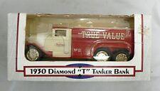 DIE CAST 1/34 SCALE 1930 DIAMOND T TANKER TRUCK TRUE VALUE BANK