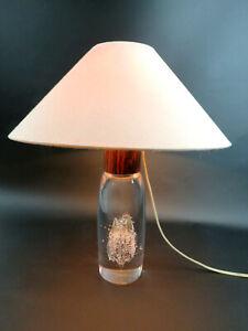 60s Tischlampe seltene Tischleuchte Kosta Boda Ann + Göran Wärff signiert