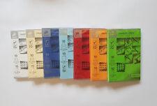 80 x hochwertige Doppelkarten mit Umschlag und Einlägeblatt, geripptes Papier