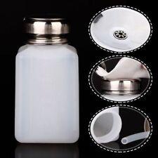 200ML Empty Pump Dispenser For Nail Art Polish Acrylic Liquid Bottle LrJNE Hot