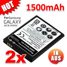 2X Li-ion Replacement Power for Samsung Galaxy ACE Battery S5830 Gio S5660 S5670