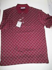 Greg Norman Signature Series Polo Golf Short Sleeve Shirt Cotton  NEW  XL HA