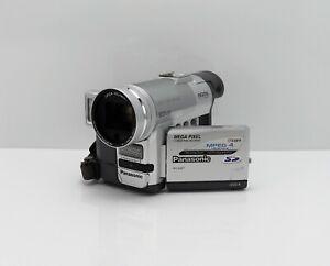 PANASONIC NV-GX7 CAMCORDER MINI DV TAPE DIGITAL VIDEO CAMERA
