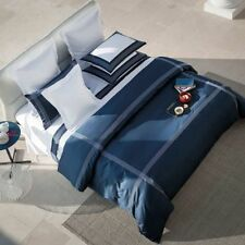 FRETTE HOTEL PORTO KING DUVET SET 2 EURO EMBROIDERED PILLOW SHAMS RETAIL$910+tax