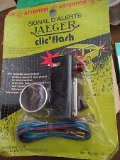 Auto Moto de Collection Clic Flash Jaeger WARNING NEUF SCELLE