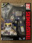 Transformers Titans Return Soundwave & Laserbeak & Buzzsaw & Ravage & Rumble