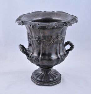 Antique Russian silver plated wine cooler,early 19thC