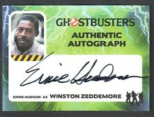 GHOSTBUSTERS (Cryptozoic 2016) AUTOGRAPH CARD #EH ERNIE HUDSON as WINSTON