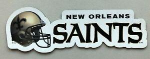 New Orleans Saints custom die cut MAGNET NFL Football