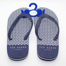 ba351e3a8 TED BAKER LONDON Flyxx 4 Dark Blue Flip Flop - Size 8