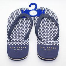 cb4eeab66f32 TED BAKER LONDON Flyxx 4 Dark Blue Flip Flop - Size 8