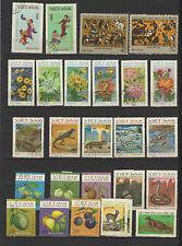années 70 Viêt Nam un lot de timbres oblitérés  / T1700