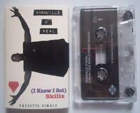 SHAQUILLE O'NEAL - (I KNOW I GOT) SKILLZ Radio / Remix - Cassette Single - 1993