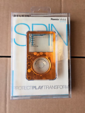 BELKIN Acrylic Metal Case for 6G 7G iPOD Classic 80 160 120GB - Never Released
