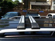 VW Caddy Abschließbar Querstange Dachträger Rack 2004 To 2009 75 kg Kappe (2