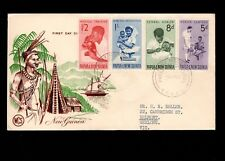 Papua & New Guinea Port Moresby 1st Day 1964 Various Local Medicine Cover 5l