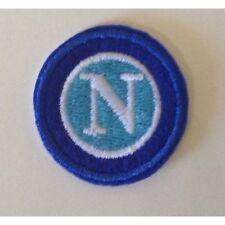 [Patch] NAPOLI Sport Calcio diam. cm 3 toppa ricamata termoadesiva -459
