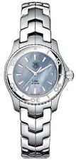 GREAT GIFT IDEA TAG HEUER LADIES LINK WJ1316.BA0573 BLUE PEARL SWISS WATCH