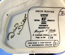 ** Kevin Francis TOBY Jug - DAVID WINTER (signed by David) -- Doulton Quality
