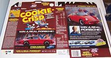 1988 Ralston Cookie Crisp Cereal Box unused Flat cf41