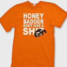 Honey Badger Don't Give A Sh*t Funny T-shirt internet humor Tee Shirt