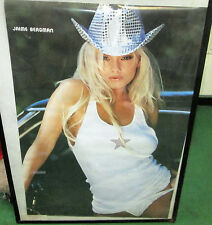 JAIME BERGMAN VINTAGE POSTER PLAYBOY SUPER MODEL HOT NUDE RARE OOPS 2002