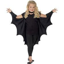 Smiffy's Kids Unisex Vampire Bat Costume, Wings, Black, One Size, 44414 - Wings
