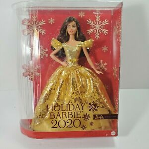 NEW IN BOX! HOLIDAY BARBIE 2020 Doll Teresa Brunette Signature Collection