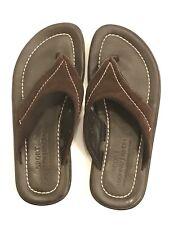 DONALD J PLINER SPORT Men's Sandals Leather Suede 9 EU 40 DANTE MADE IN ITALY