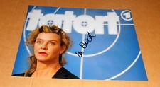 Margarita Broich *Tatort Frankfurt*,  original signiertes Foto 20x27