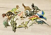 Toy Major Trading Company Dinosaur Figures Small Lot of 13