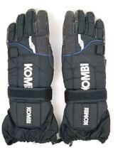 KOMBI MEN'S SKI SNOW GLOVES BLACK Medium waterguard thermolite Thumb Protection
