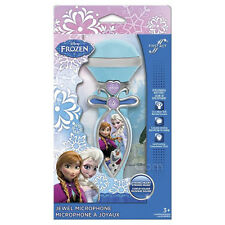 NEW Disney Frozen Jewel Microphone w/ built-in speaker & Magic Wand Sound Effect