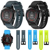 Silicagel Replacement Watchband Wrist Strap For Garmin Fenix 3/5/5X GPS Watch