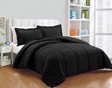 Box Stitching Down Alternative Comforter 3-Piece King Set, Select Color