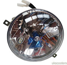 VESPA COMPLETE HEADLIGHT HIGH QUALITY HALOGEN AND SIDE LIGHT LED PX/P/LML/T5 NEW
