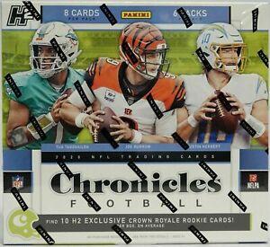 2020 Panini Chronicles H2 NFL Hobby Box One Hobby Box Random Live Team Break #2