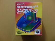 Genuine Nintendo 64 N64 Boxed Transfer Pak Complete