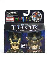 Marvel Minimates Loki & Odin Series 39 Thor Mighty Avengers Figures Asgard New