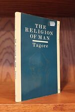 The Religion of Man by Rabindranath Tagore (1988, Paperback) Vintage Good+