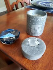 Vintage Swarovski Crystal 1982 Mini Pig Crystal Tail 7657Nr027 Retired Coa