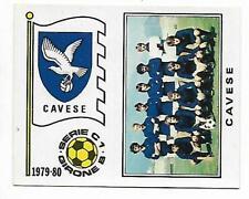 FIGURINA CALCIATORI PANINI 1979-80 SCUDETTO E SQUADRA CAVESE N.523