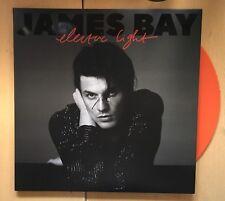James Bay Electric Light LIMITED EDITION ORANGE VINYL LP ALBUM NEW