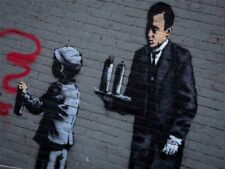 Banksy Boy Art Posters
